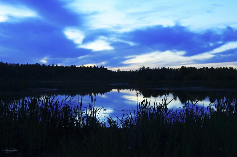 """March 24, 2011<br /> <br /> """"Cystal Blue""""<br /> <br /> Spring Lake, Alberta"""