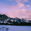 "January 27, 2010<br /> <br /> ""Mountain Sunset""<br /> <br /> The Colin Range<br /> Jasper National Park, Alberta"