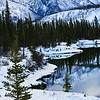 "February 2, 2011<br /> <br /> ""Winter Blues""<br /> <br /> Jasper National Park, Alberta"