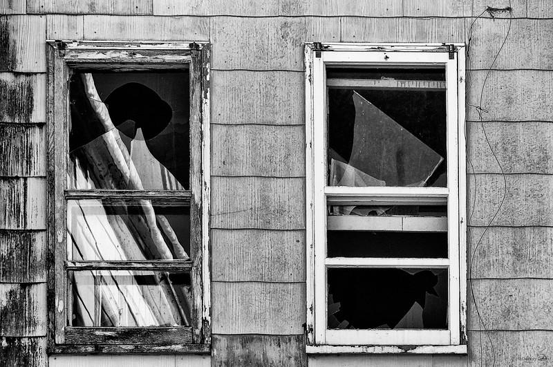 December 6, 2014<br /> <br /> Broken Windows<br /> <br /> Nordegg, Alberta
