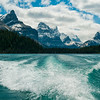 Boat Cruise on Maligne