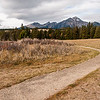 October 28, 2014<br /> <br /> On the Right Path<br /> <br /> Path at Lake Annette with Pyramid Mountain in the background.<br /> <br /> Jasper National Park, Alberta