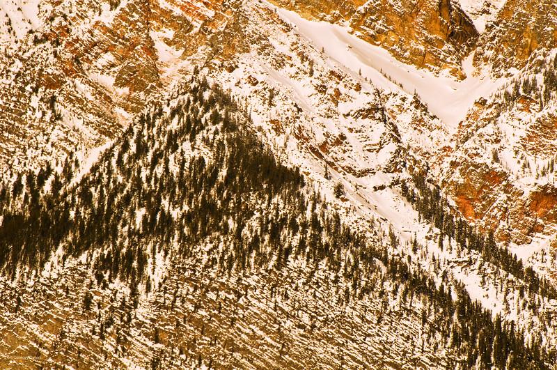 March 14, 2013<br /> <br /> Mountainside<br /> <br /> Jasper National Park, Alberta