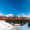 January 15, 2015<br /> <br /> CN Railway<br /> <br /> Jasper National Park, Alberta<br /> <br /> * For the month of January I will, once again, be posting images from my annual trips to Jasper in January.