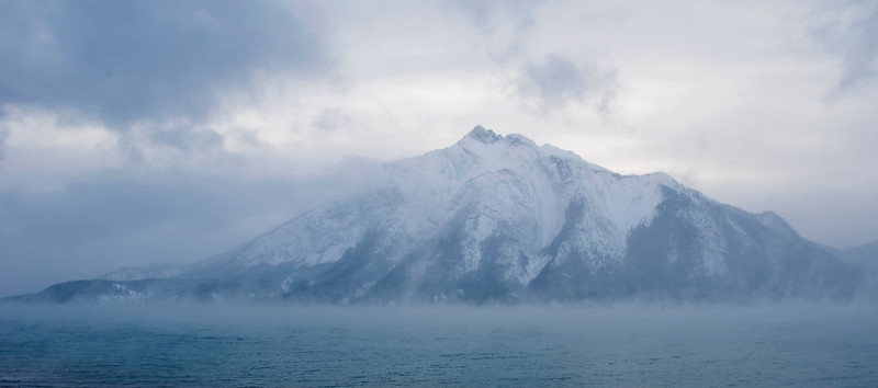 February 1, 2013<br /> <br /> Frigid<br /> <br /> * This image was captured while on a trip to Abraham Lake in the Kootenay Plains. There are a number of members of our local camera club, including Linda Treleaven, heading to Abraham Lake this weekend. I thought I would share some images from this great area for the next few days, offering them some inspiration. Truth be told, I am jealous as hell and really wish I was going!! They are supposed to have plus temperatures, which is a far cry from the -43° I woke up to a couple of days ago. Gotta love Alberta :)<br /> <br /> Windy Point on Abraham Lake (Brrrrrr!!!!)<br /> Near Nordegg, Alberta