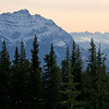 January 12, 2013<br />  <br /> Hazy Morning<br />  <br /> * This image was taken from one of the parking lots up at Marmot Basin. This was taken mid-morning and it was very hazy. Next time I am heading up there for a sunset!<br /> <br /> Mount Kerkeslin<br /> Jasper National Park, Alberta<br /> <br /> Jasper in January - Embrace winter!