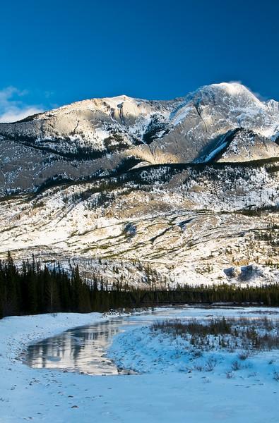 April 8, 2013<br /> <br /> Snaring River<br /> Jasper National Park, Alberta