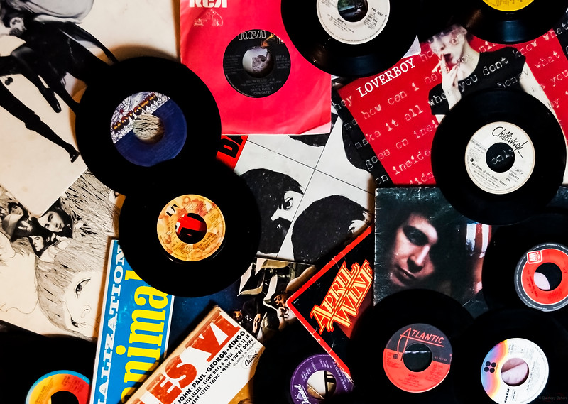 August 7, 2014<br /> <br /> Vinyl Records<br /> <br /> Throwback Thursday<br /> #ThrowbackThursday<br /> <br /> * I have a large vinyl record collection. There are sooo many great, classic tunes in this collections and every record brings back many fond memories.