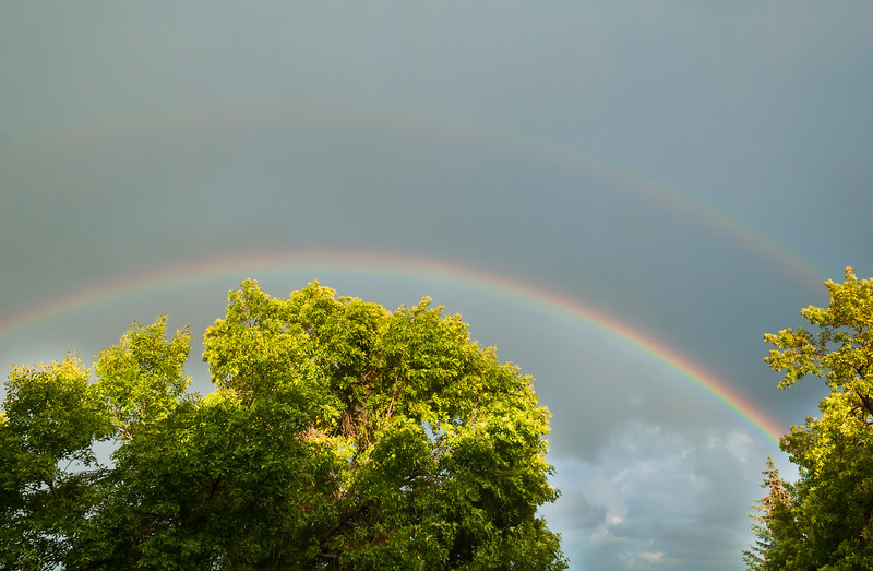 September 4, 2014<br /> <br /> Double Rainbow<br /> <br /> Edmonton, Alberta