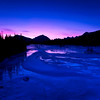 January 3, 2014  Winter Sunrise  Athabasca River Jasper National Park, Alberta  * <I>Jasper in January</I> For the month of January, I will be editing images from my annual trips to Jasper in January.