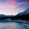 December 27, 2013  Magical Morning  Abraham Lake Kootenay Plains, Alberta  * This image was taken from one of the magnificent viewpoints at Aurum Lodge. I am sure I could spend a lot of time there, finding myself :)