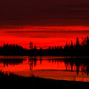 "October 18, 2011  ""Fire Lake""  Astotin Lake Elk Island National Park, Alberta  * <i>What's In A Name?</i>~ For the month of October I am playing a <i>Name Game</i>. I am challenging myself to use a song title as the image title."