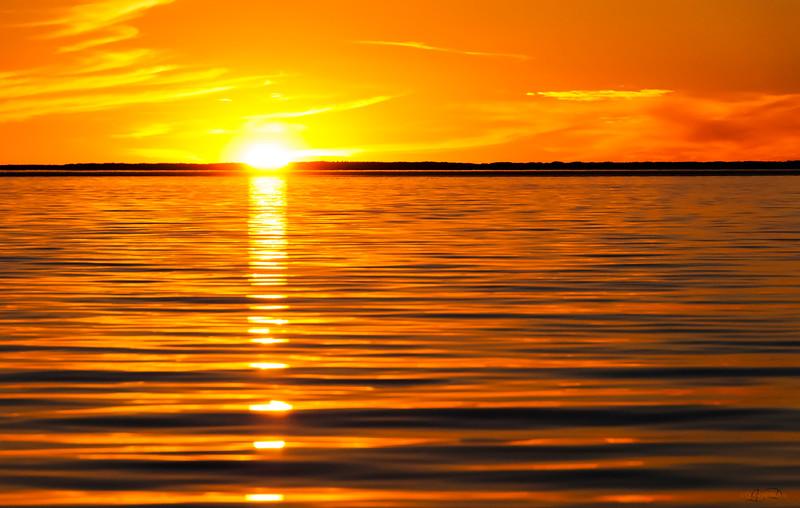 October 12, 2014<br /> <br /> Sunset on Little Buffalo<br /> <br /> Peter Pond Lake<br /> Buffalo Narrows, Saskatchewan