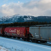 February 19, 2014<br /> <br /> Rocky Mountain Train<br /> <br /> Jasper National Park, Alberta