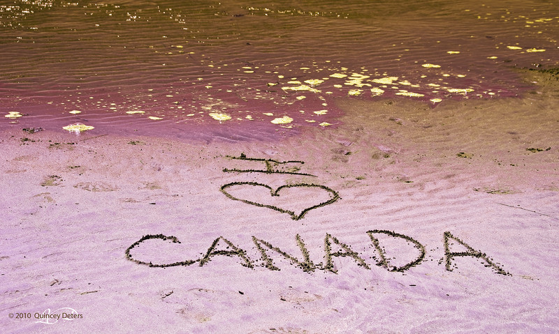 "Day Thirty!!!<br /> And the last day of the initial 1-A-Day Project :)<br /> <br /> ""I Love Canada""<br /> <br /> Tofino, B.C.<br /> <br /> This project has been soooo much fun that I must continue sharing images daily :)<br /> Thanks for your sharing with me!!"