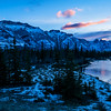 January 5, 2015<br /> <br /> Blue Morning<br /> <br /> Jasper National Park, Alberta<br /> <br /> * For the month of January, I will once again be posting images from my annual trips to Jasper in January