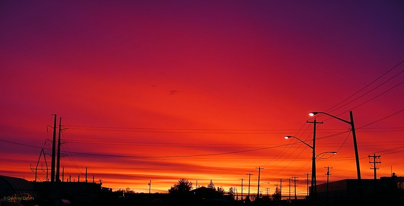 March 12, 2011<br /> <br /> Industrial Sunrise<br /> <br /> Edmonton, Alberta