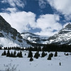 "Day Forty<br /> <br /> ""Crowfoot Mountain""<br /> <br /> Icefields Parkway<br /> Banff National Park, Alberta"