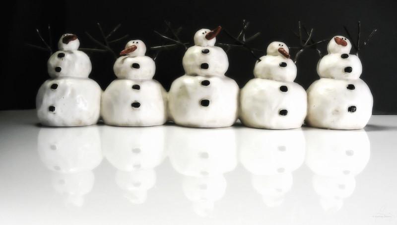 The Five Snowmen
