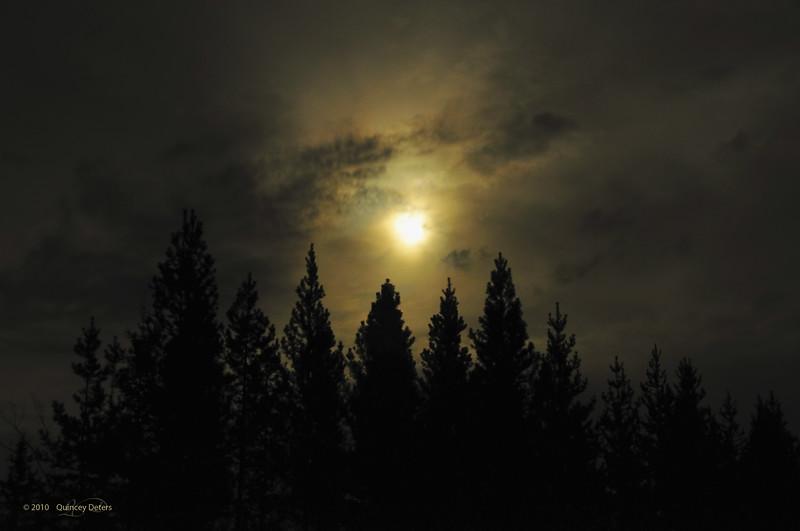 "Day Thirty-Three<br /> <br /> ""Night Light""<br /> <br /> Elk Island Retreat, Alberta"