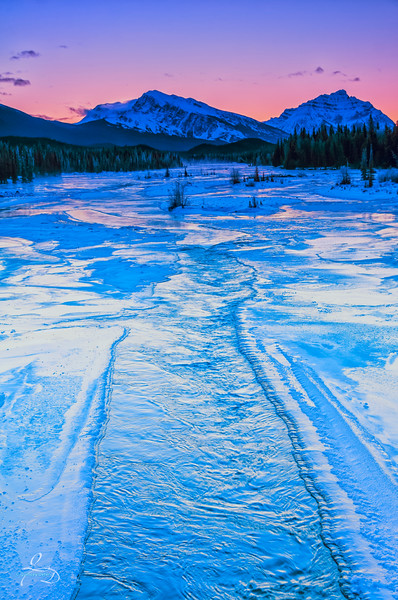 Magical Mountain Glow