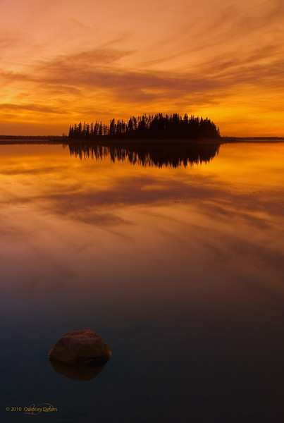 Day Three<br /> <br /> Dusk at Astotin Lake<br /> <br /> Elk Island National Park, Alberta<br /> <br /> IACC (Images Alberta Camera Club) Outing