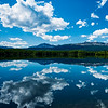 Reflection on Grande Cache Lake