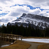 "Day Forty-One<br /> <br /> ""Cascade Mountain""<br /> <br /> View from Cascade Ponds<br /> Banff National Park, Alberta<br /> <br /> ( I have to play catch up - I got a couple days behind )"