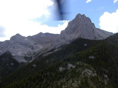 Canmore Helicopter Trip