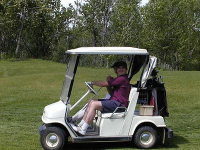 Golfing - Turner Valley