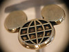 Macro: reversed EF 50mm f/1.8 II on G3, Epcot/Mickey Mouse tie tack
