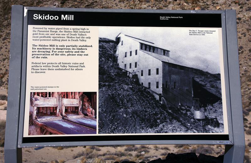 Skidoo Mine - Death Valley - abandoned