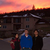 Mika, Derek, Jeff in a New Mexico Sunset.JPG