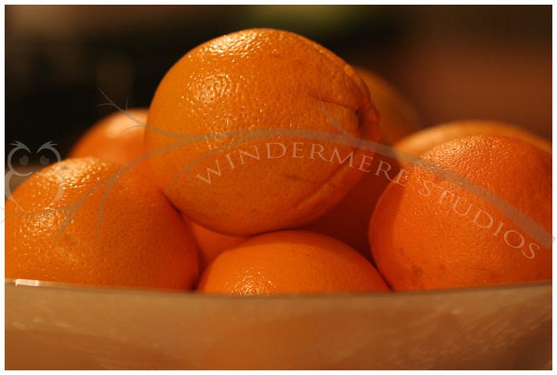 Feb. 3, 2005: Still life with oranges.