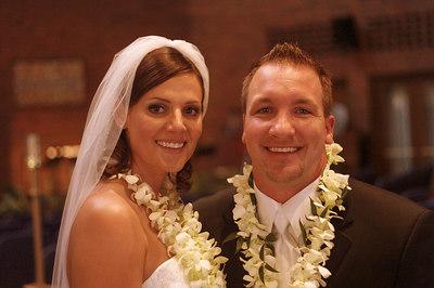 June - Cara & Garth are married