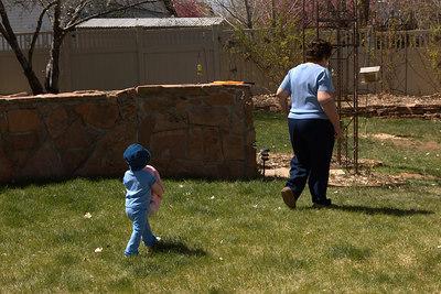 April - following in great grandma's steps