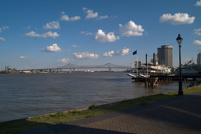 May - Mississippi river in NOLA
