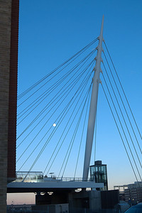 January - LoDo pedestrian bridge