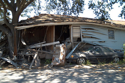 May - NOLA Lower 9th Ward 9 months after