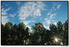 19Sep06<br /> <br /> not quite out the back door.  since it was clouds I was wanting, I was able to overlook (er, look over?) the repo lot behind the trees.<br /> <br /> f/5.6, 1/1250s, iso 200.