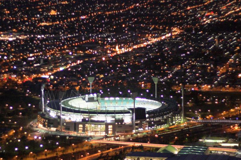 The Melbourne Cricket Ground.