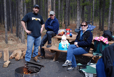 Camping- McLean Creek April
