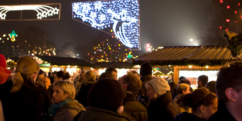 Winter festival in Vienna