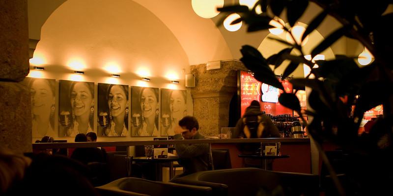Coffee shop in Salzburg