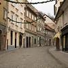 Oldtown streets in Ljubljana at 3:00pm when everyone sleeps