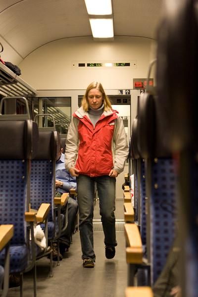 A-dawg in train