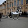 Camera crew at museum square