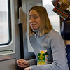 Amanda in the train
