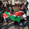 Kenyan flag.