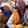 Tibetian(?) monks for peace.